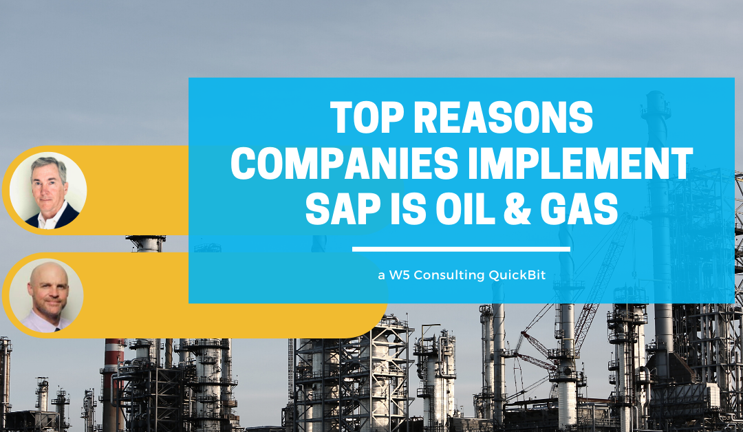 Video: Top reasons to implement SAP IS oil and gas