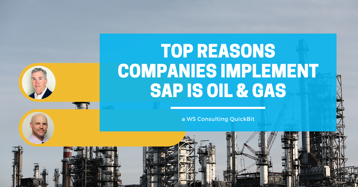 SAP IS oil and gas video