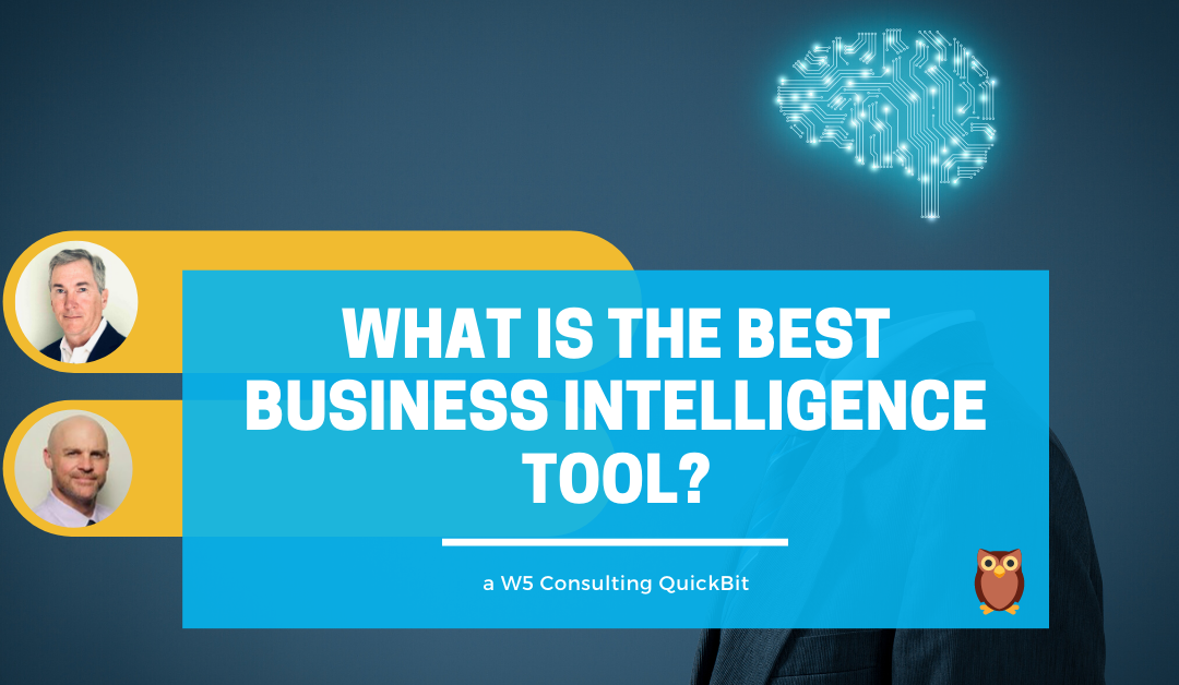 Video: What is the best business intelligence tool?