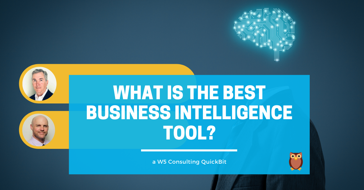 What is the best business intelligence tool inte