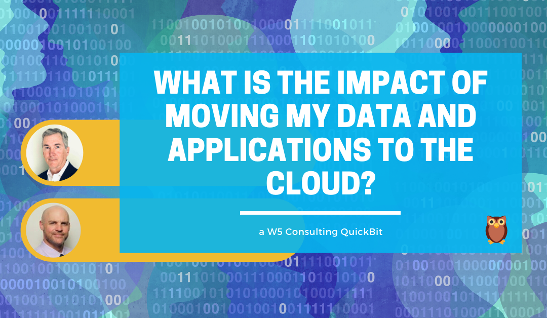 Video: What is the impact of moving your data and analytics to the cloud?