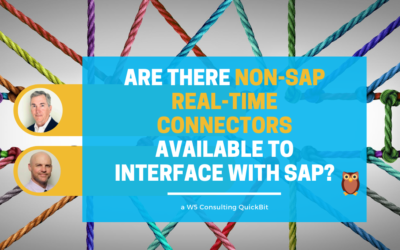 Video: Are there non-SAP real-time connectors for SAP software?