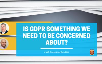 Video: Should I Still Be Concerned about GDPR?