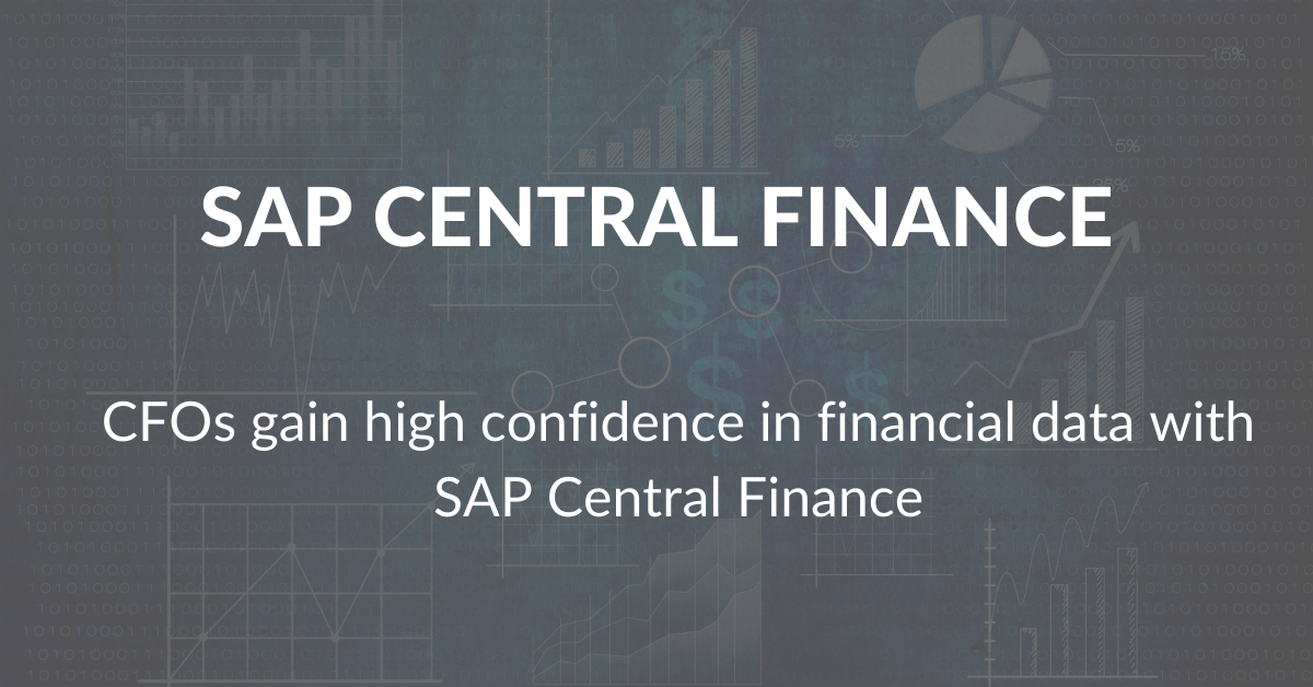 chart and graph images for SAP central finance